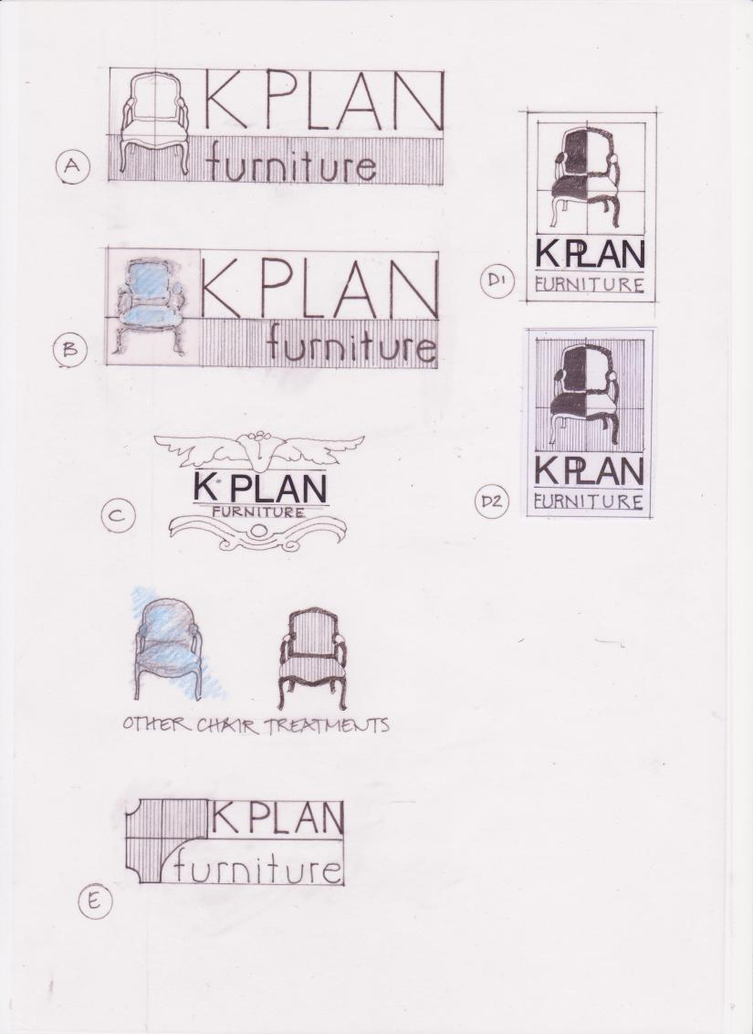 The Adventures of K Plan Kate:  Fustration, despair and logo design headaches